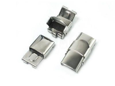 Zapięcie stalowe do rzemienia płaskiego 25x13 mm - 1 komplet