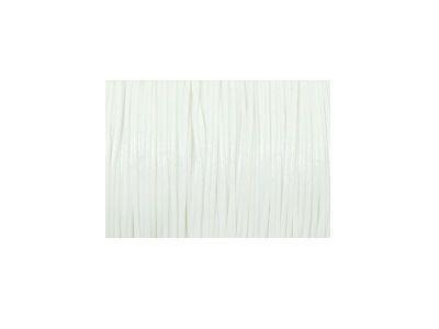 Sznurek lakierowany biały 0.5 mm  - 3 m