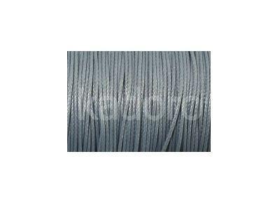 Sznurek lakierowany ciemnoszary 0.5 mm  - 3 m