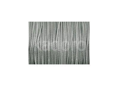 Sznurek lakierowany srebrny 1 mm  - 3 m