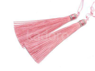 Chwost różowy 100x10 mm - 1 sztuka