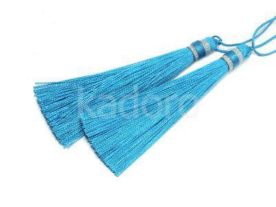 Chwost niebieski 100x10 mm - 1 sztuka