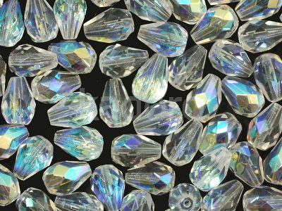 FP Pear Crystal AB 10x7 mm - 6 sztuk