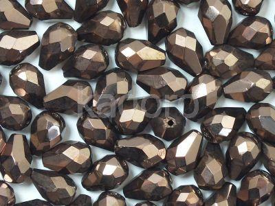 FP Pear Dark Bronze 10x7 mm - 6 sztuk