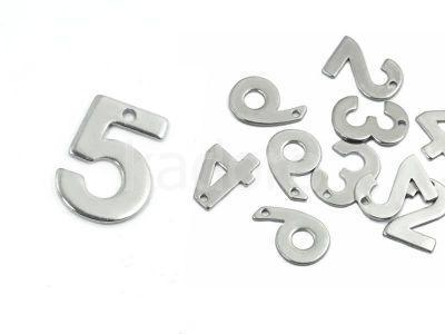 Cyfra 5 stal szlachetna - 1 sztuka