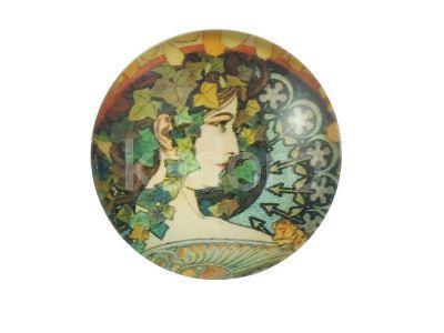 Kaboszon portret damy VIII - 1 sztuka