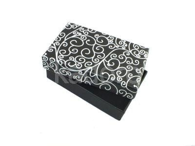 Pudełko esy-floresy prostokątne czarne
