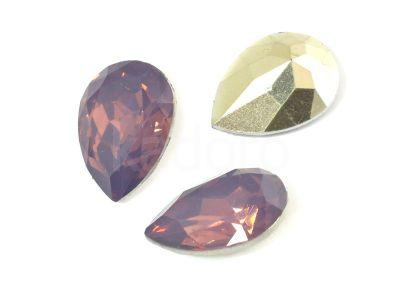 Yem Pear 18x13 mm Purple Opal F - 2 sztuki