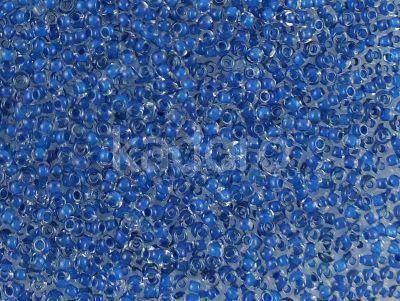 PRECIOSA Rocaille 6o-Dk Blue-Lined Crystal - 50 g