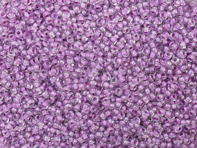 PRECIOSA Rocaille 11o-Lila-Lined Crystal - 50 g