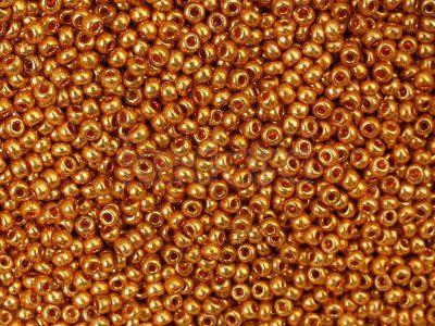 PRECIOSA Rocaille 10o-Metallic Orange Gold - 50 g