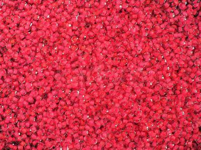 PRECIOSA Rocaille 11o-Neon Pink Lined Crystal - 50 g