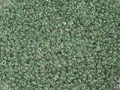 PRECIOSA Rocaille 11o-Seafoam Lined Crystal - 50 g