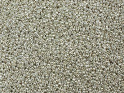 PRECIOSA Rocaille 11o-Aluminium Silver Terra Metallic - 50 g