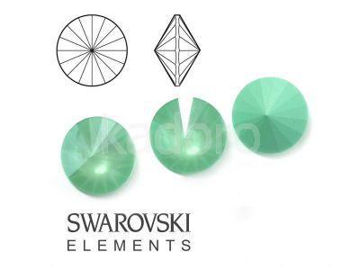 Rivoli Swarovski 12 mm Crystal Mint Green - 1 sztuka