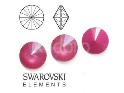 Rivoli Swarovski 12 mm Crystal Peony Pink - 1 sztuka
