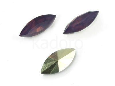 Yem Marquise 15x7 mm Purple Opal F - 4 sztuki