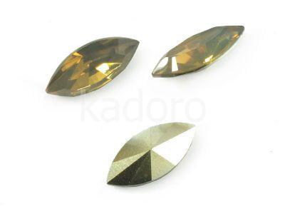 Yem Marquise 15x7 mm Golden Opal F - 4 sztuki