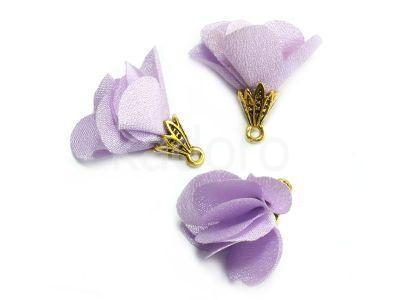Kwiatek liliowy 25 mm - 1 sztuka