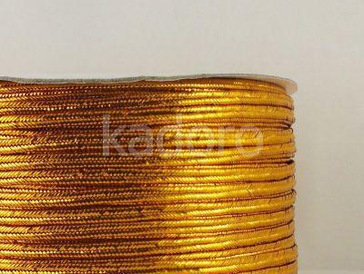 Sutasz chiński miedziany metalizowany 3mm - szpulka 50 m