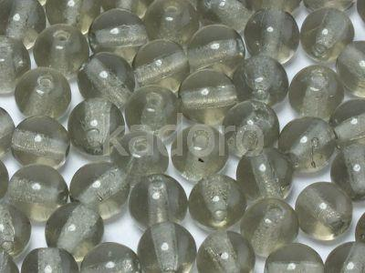 Round Beads Black Diamond 6 mm - 20 sztuk