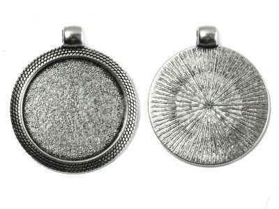 Baza II do kaboszonu 25 mm kolor srebrny - 1 sztuka