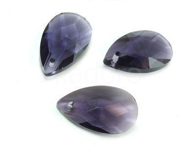 Migdał szklany Purple Velvet 22 mm - 1 sztuka