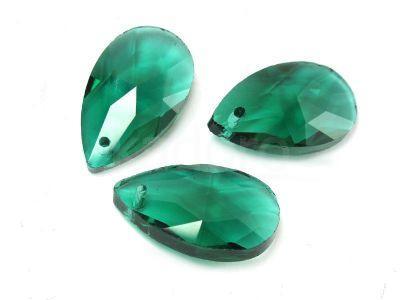 Migdał szklany Emerald 22 mm - 1 sztuka