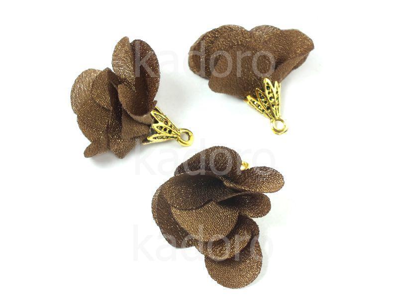 Kwiatek czekoladowy 25 mm - 1 sztuka
