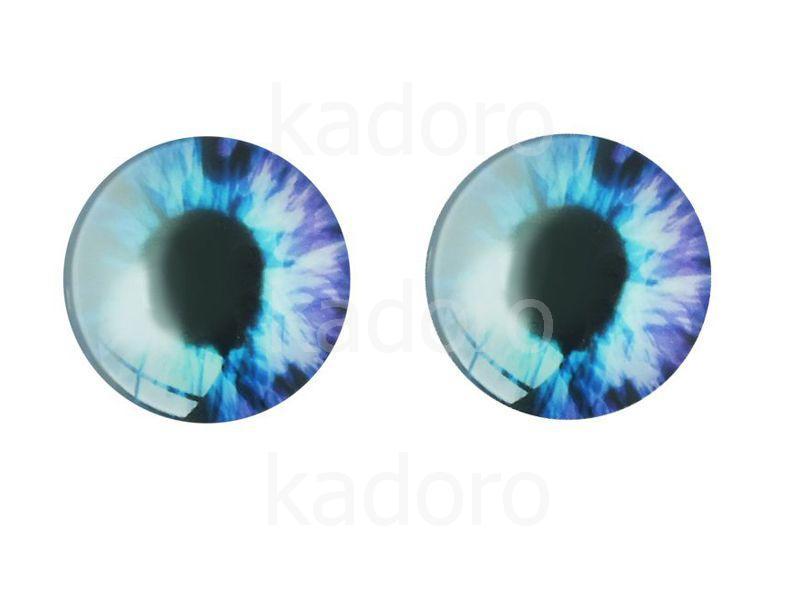 Kaboszon oko I 12 mm - 2 sztuki