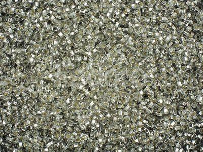 PRECIOSA Rocaille 11o-Silver-Lined Crystal SH - 50 g
