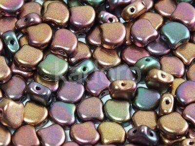 Ginko 7.5x7.5mm Matte Metallic Iris Purple - 10 sztuk