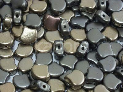 Ginko 7.5x7.5mm Matte Metallic Zinc Iris - 10 sztuk