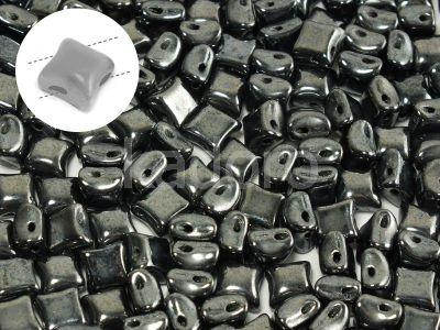 Wibeduo 8mm Hematite - 10 sztuk