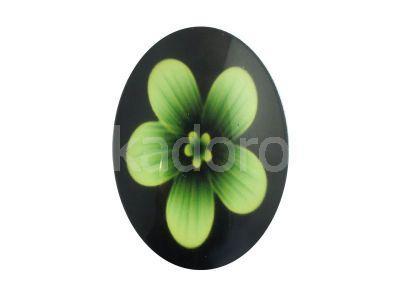 Kaboszon kwiaty VIII 35x25 mm - 1 sztuka