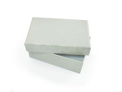 Ozdobne pudełko na biżuterię prostokątne perłowe