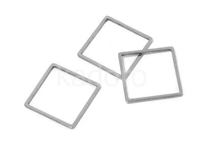 Baza stalowa kwadrat 16 mm - 1 sztuka