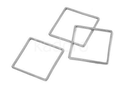 Baza stalowa kwadrat 20 mm - 1 sztuka