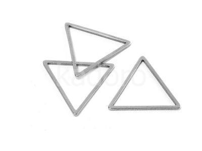 Baza stalowa trójkąt 18 mm - 1 sztuka