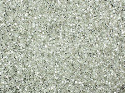 TOHO Hex 15o-21 Silver-Lined Crystal - 5 g