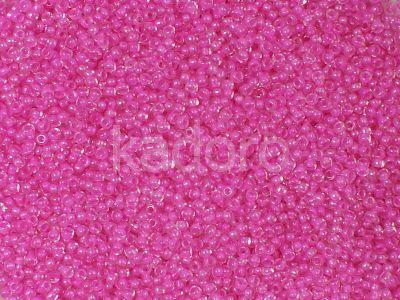 PRECIOSA Rocaille 9o-Pink-Lined Crystal - 50 g