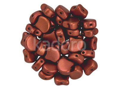 Ginko 7.5x7.5mm Matte Metallic Dark Copper - 10 sztuk