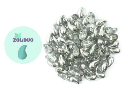 Zoliduo (Left) Silver 1/2 5x8 mm - 10 sztuk