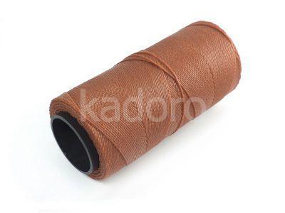 Sznurek brazylijski Cinnamon 1mm - 3 m