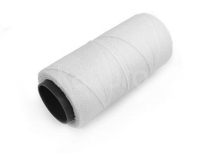 Sznurek brazylijski Extra White 1mm - 3 m