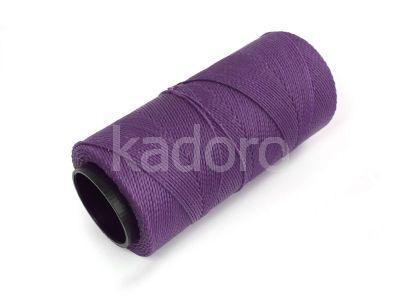Sznurek brazylijski Violet 1mm - 3 m