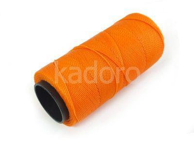 Sznurek brazylijski Tangerine 1mm - 3 m