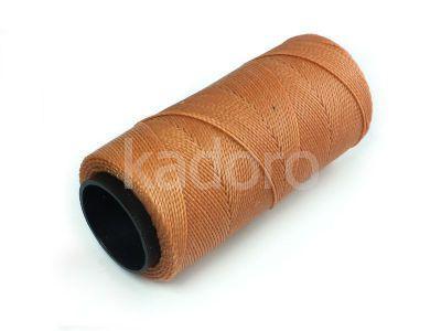 Sznurek brazylijski Almond 1mm - 3 m
