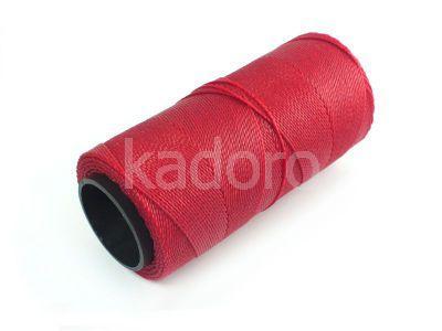 Sznurek brazylijski Crimson 1mm - 3 m