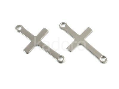 Łącznik stalowy krzyżyk 23x12 mm - 1 sztuka